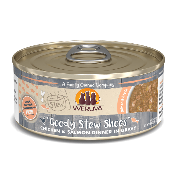 Weruva Goody Stew Shoes Chicken & Salmon - 156 g | Pisces Pets