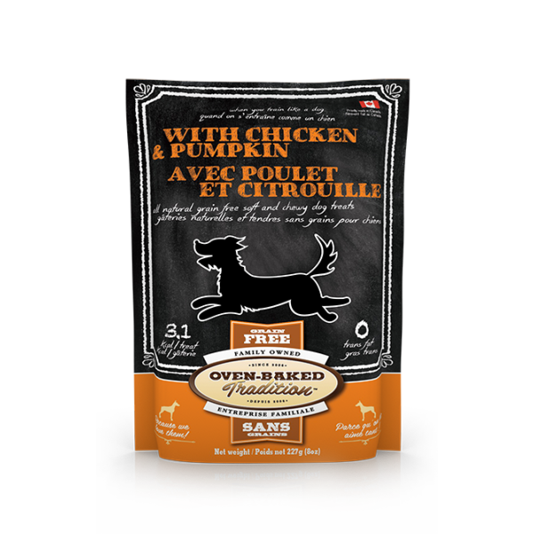 Oven-Baked Tradition Chicken & Pumpkin - 227 g | Pisces Pets