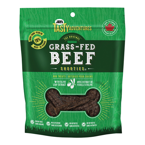 Jay's Grass Fed Beef Shorties | Pisces Pets