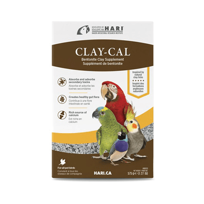 Hari Clay-Cal Bentonite Clay Supplement for Birds | Pisces Pets