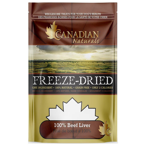Canadian Naturals Freeze Dried Treats - Beef | Pisces Pets
