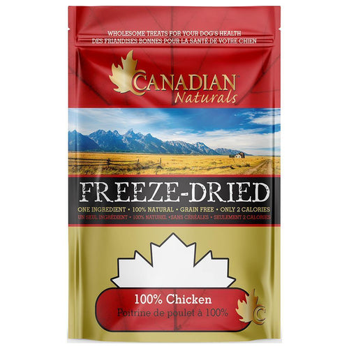 Canadian Naturals Freeze Dried Treats - Chicken | Pisces Pets