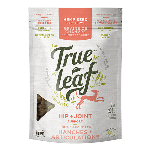 True Leaf Hip & Joint Support Chews - 200 g | Pisces Pets