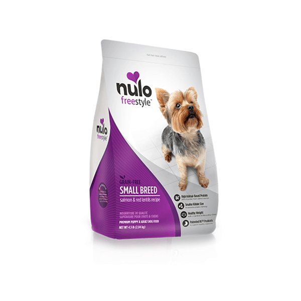 Nulo Freestyle Grain Free Small Breed High Meat Salmon & Red Lentils Dog Food | Pisces Pets