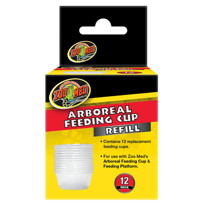 Zoo Med Arboreal Feeding Cup Refill - 12 Pack | Pisces Pets