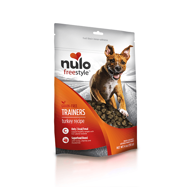 Nulo Freestyle Turkey Training Treats - 113 g | Pisces Pets