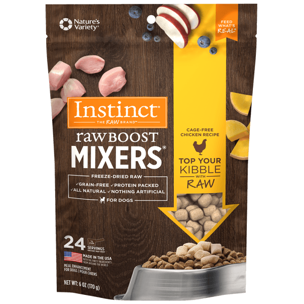 nstinct Dog Raw Boost Mixers Chicken - 170 g | Pisces Pets