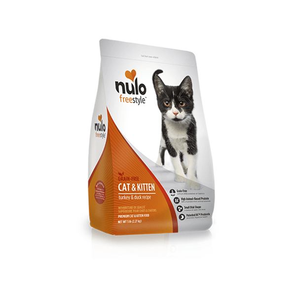 Nulo Freestyle Grain Free Cat & Kitten High Meat Turkey & Duck Cat Food | Pisces Pets