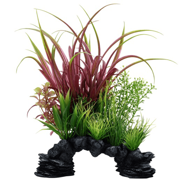 Fluval Aqualife Deco Scapes Red Sagittarius Mix - 10 in | Pisces Pets