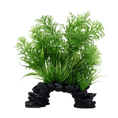 Fluval Aqua Life Deco Scapes White Tipped Hottonia Mix - 6-8 in | Pisces Pets