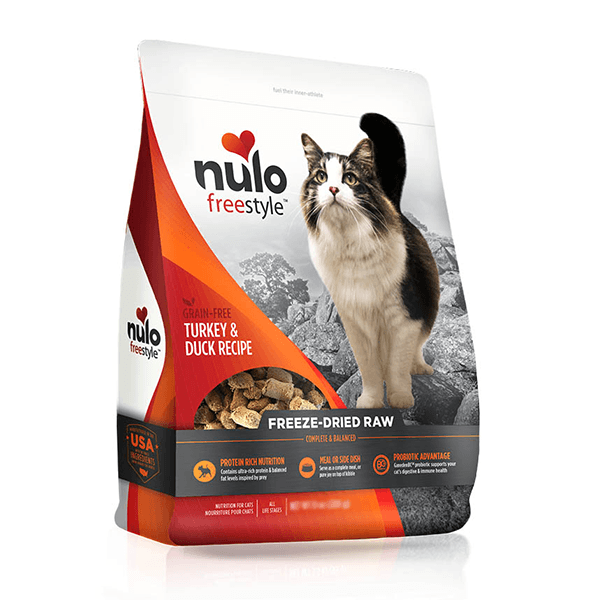 Nulo Freestyle Freeze-Dried Raw Grain Free Turkey & Duck Cat Food | Pisces Pets