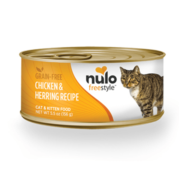 Nulo Freestyle Chicken & Herring Cat Food - 156 g | Pisces Pets
