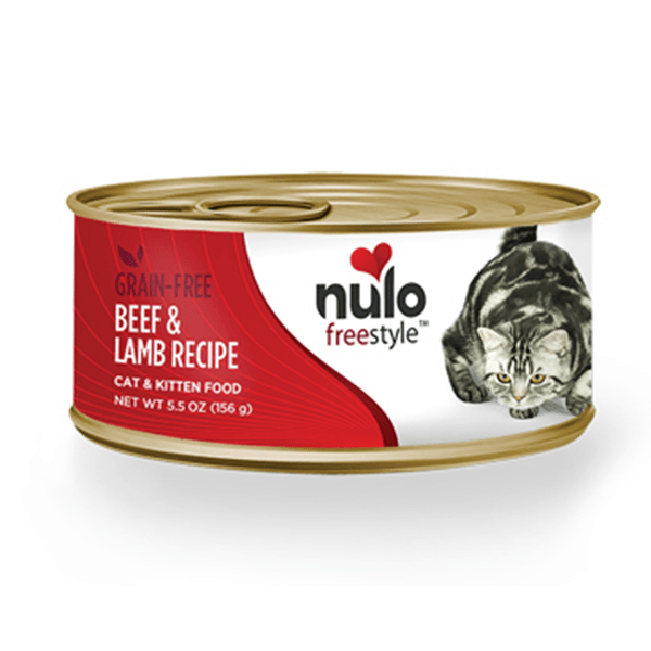 Nulo Freestyle Beef & Lamb Cat Food | Pisces Pets