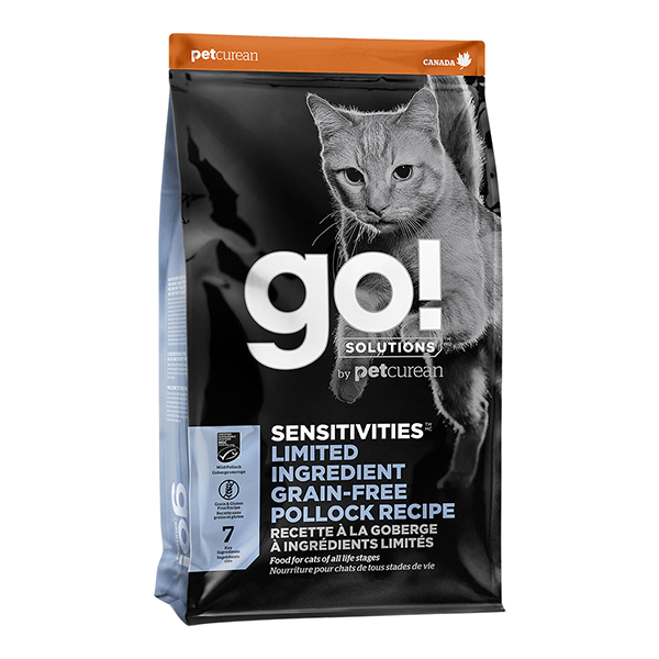 go! Cat Sensitivities Limited Ingredient Pollock | Pisces Pets