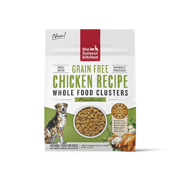 Honest Kitchen Chicken Whole Food Clusters | Pisces Pets