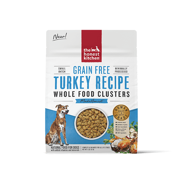 Honest Kitchen Turkey Whole Food Clusters | Pisces Pets