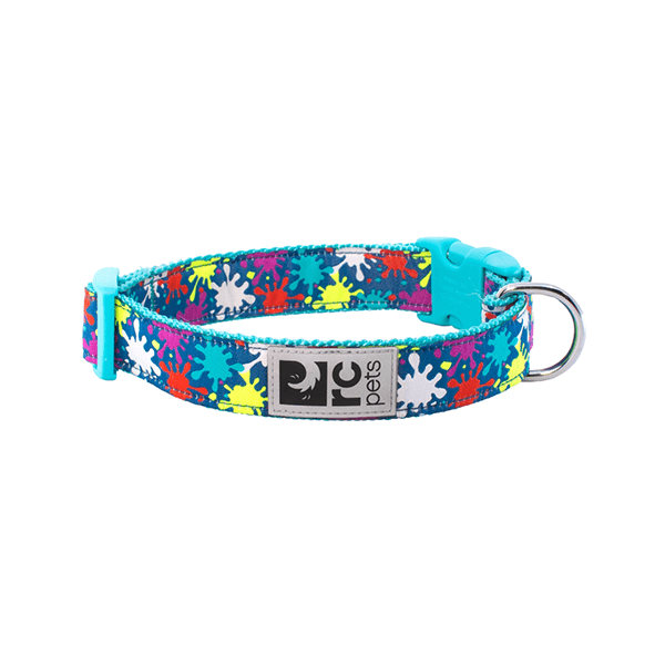 RC Pets Splatter Clip Collar - Available in 5 Sizes | Pisces Pets