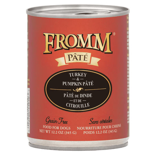 Fromm Dog Turkey & Pumpkin Pate - 345 g | Pisces Pets