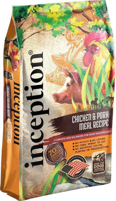 Inception Dog Food - Chicken & Pork Recipe