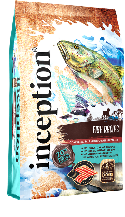 Inception Dog Food - Fish Recipe