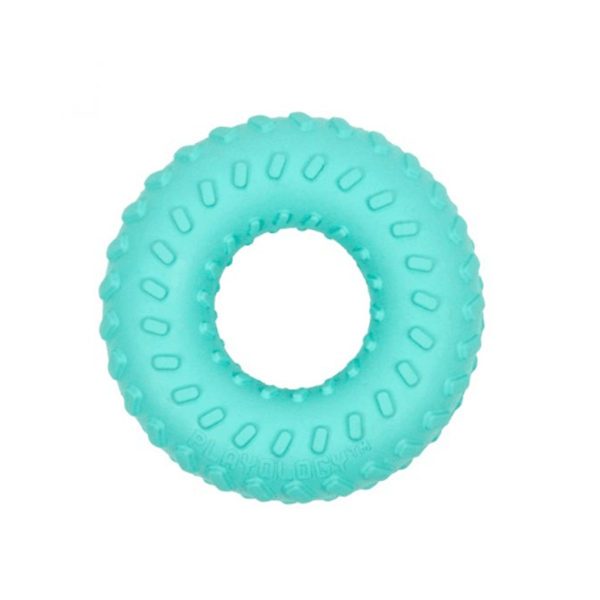 Playology Blue Dual Layer Ring - Available in 3 Sizes | Pisces Pets