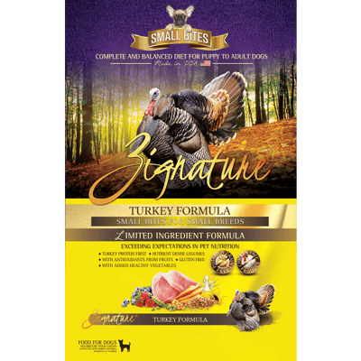 Zignature Turkey Small Breed Dog Food | Pisces Pets