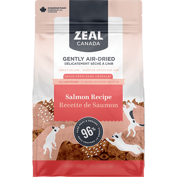 Zeal Canada Air-Dried Salmon Dog Food | Pisces Pets