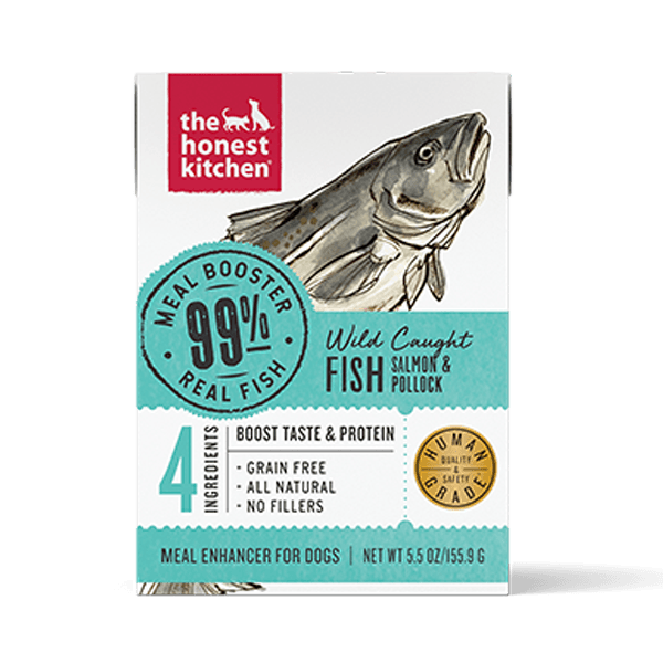 Honest Kitchen 99% Salmon & Pollock Meal Booster - 156 g | Pisces Pets