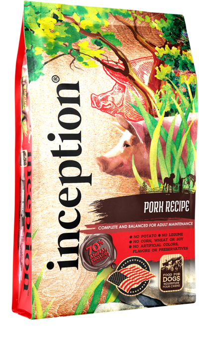 Inception Dog Food - Pork Recipe