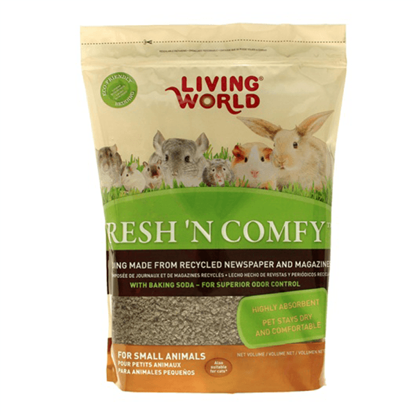 Living World Fresh 'n Comfy Bedding - Tan | Pisces Pets