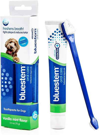 Bluestem Toothpaste & Brush Combo - Vanilla Mint 70g
