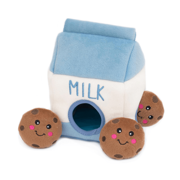 Zippy Paws Burrow - Milk & Cookies | Pisces Pets
