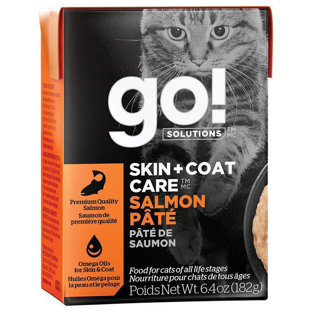 go! Skin & Coat Salmon Pate Cat Food - 182 g | Pisces Pets