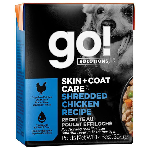 GO! Skin & Coat Shredded Chicken- 12.5OZ