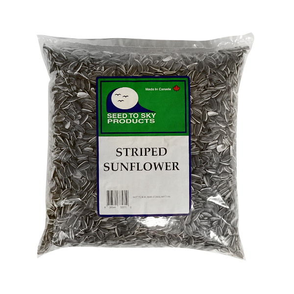 Seed to Sky Striped Sunflower Seeds | Pisces Pets