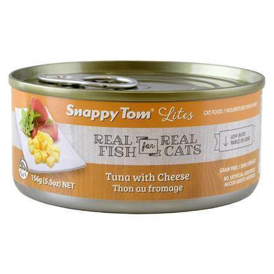 Snappy Tom Lites Tuna & Cheese 156g