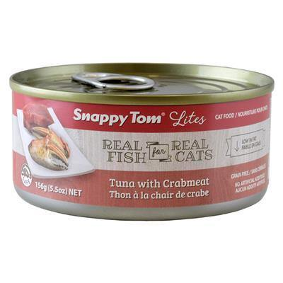 Snappy Tom Lites Tuna & Crabmeat 156g