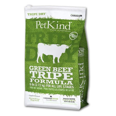 PetKind Green Beef Tripe Dog Food | Pisces Pets