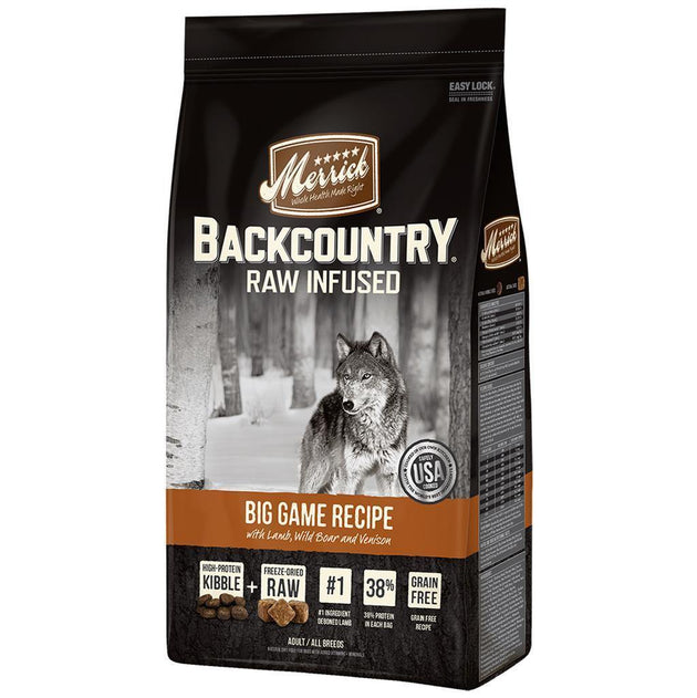 Merrick Raw Infused Big Game Dog Food