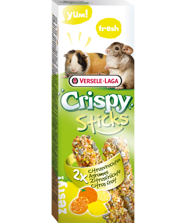 Versele-Laga Citrus Fruit Crispy Sticks 110g
