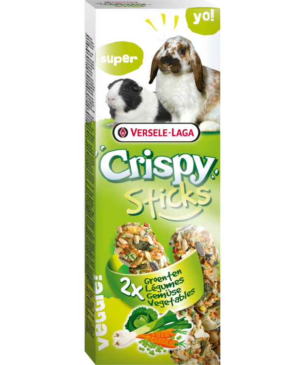 Versele-Laga Vegetable Crispy Sticks 110g