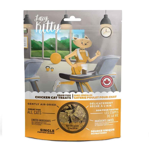 Lazy Kitty Chicken Air Dried Treat - 85g