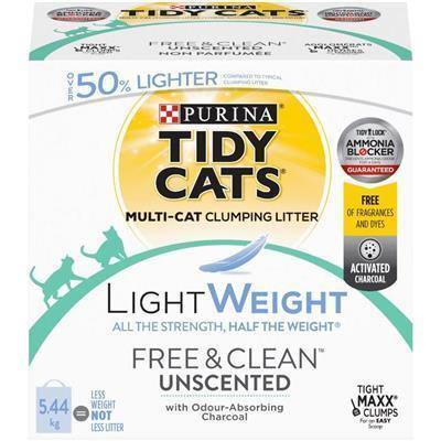 Tidy Cats Lightweight Free & Clean Cat Litter