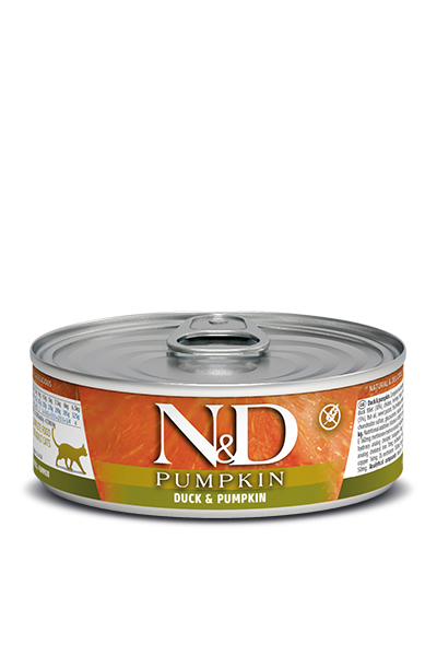 Farmina N&D Cat Food - Duck & Pumpkin 80g