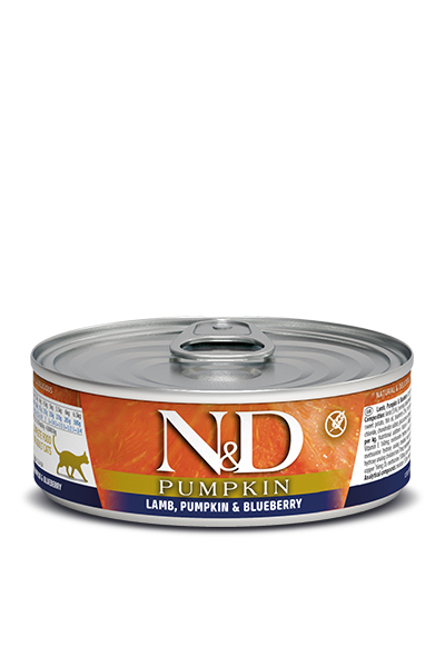 Farmina N&D Cat Food - Pumpkin Lamb & Blueberry 80g