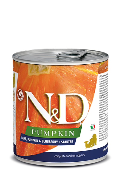 Farmina N&D Puppy Food - Lamb Pumpkin & Blueberry 285g