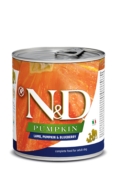Farmina N&D Dog Food - Lamb Pumpkin & Blueberry 285g