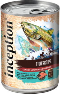 Inception Canned Dog Food - Fish 13oz