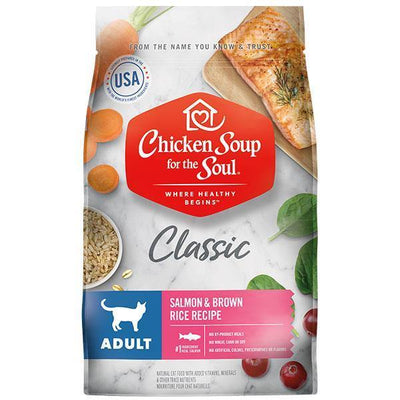 Chicken Soup Pets - Salmon & Brown Rice Cat Food
