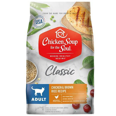 Chicken Soup Pets - Chicken & Brown Rice Cat Food